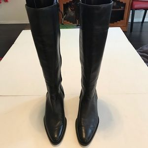 Lauren Ralph Lauren Austina Leather Riding Boots
